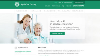 Aged Care Planning