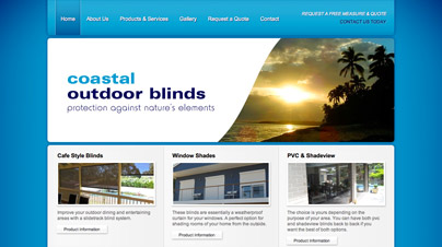 Coastal Outdoor Blinds